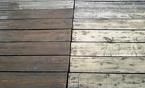 天然木塗装