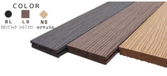 Eee-Deck(リブ付無垢タイプ 133mm×26mm×2m)(EWH-DM135)