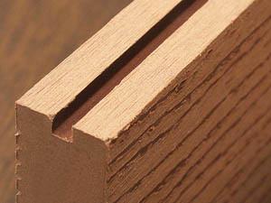 人工木 側面詳細