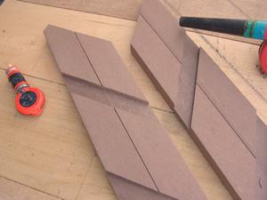 人工木 加工