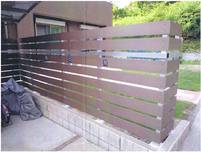 DIYとは思えない素晴らしいウッドフェンス!(RYO様-愛知県瀬戸市)