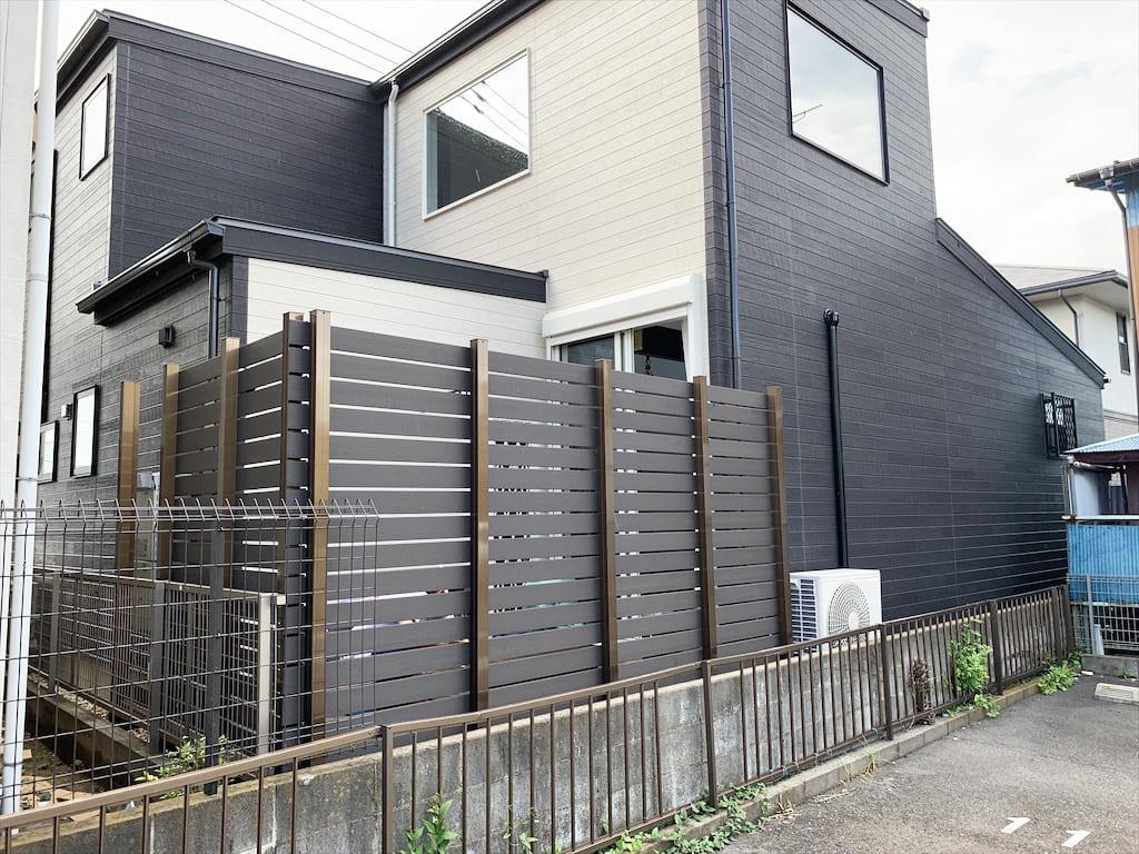 個人様宅のフェンス(千葉県 タートルウェルズ株式会社様ご施工)