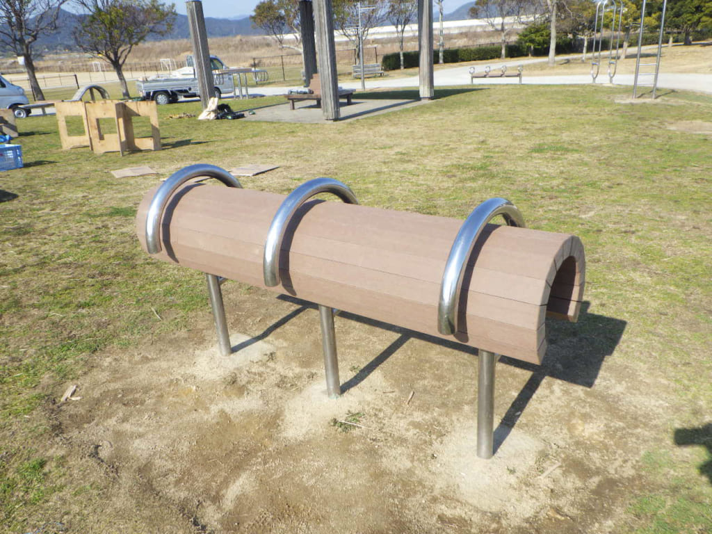 人工木 ベンチ