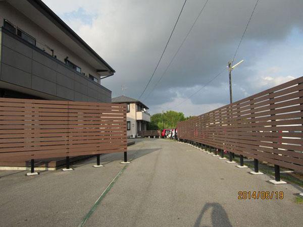 人工木フェンス